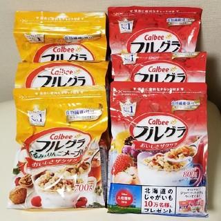 カルビー - カルビー フルグラ【3袋】フルグラくるみ&りんごメープル味【3袋】