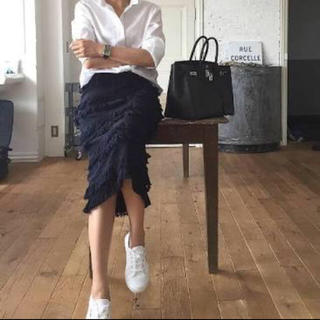 Drawer - 富岡佳子さん着用 ELIN エリン フリンジ ニットスカート
