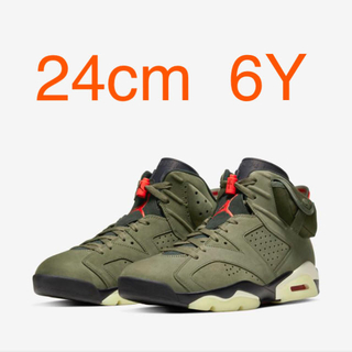 NIKE - NIKE AIR JORDAN6 travis scott トラヴィス スコット