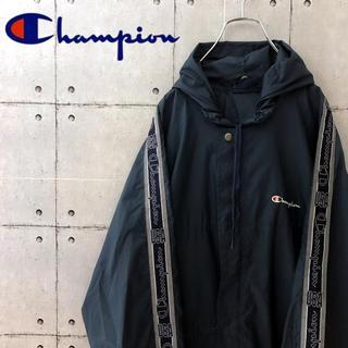 Champion - 【訳あり】チャンピオン ナイロンジャケット USAラインテープ 日本未入荷