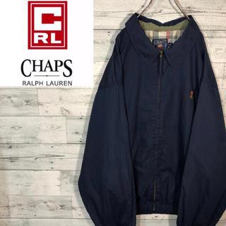 CHAPS - 【激レア】チャップスCHAPS☆ロゴ刺繍ラルフローレンスイングトップ M0624