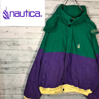 ノーティカ(NAUTICA)の【超激レア】ノーティカnautica☆90sレアカラーダウンジャケットM0625(ダウンジャケット)