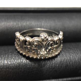 プラチナ ☆ダイヤモンド付きティアラ☆ デザイン リング・指輪(リング(指輪))