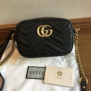 Gucci - GUCCI グッチ GG マーモント ショルダーバッグ