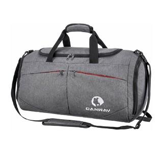 ボストンスポーツバッグ ジム 旅行シューズ収納バッグ2way超軽量乾湿分離45L(ボストンバッグ)