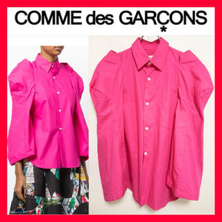 コムデギャルソン(COMME des GARCONS)の2018ss●COMMEdesGARCONS●変形 シャツ ブラウス ピンク(シャツ)