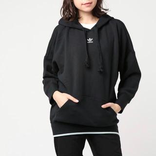 アディダス(adidas)の【新品未使用】adidas originals hoodie black(パーカー)