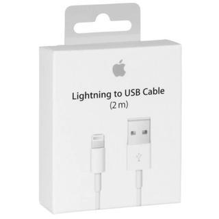 Apple - 【本日限定】Apple 純正 iPhone ライトニングケーブル純正充電器 2m