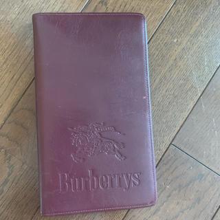 BURBERRY - Burberry カスタマイズ手帳 6穴