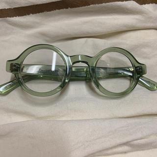 アランミクリ(alanmikli)のレスカ ルネティエ メガネ バート 試着のみ 新品 最終値下げ(サングラス/メガネ)