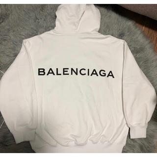 Balenciaga -  BALENCIAGA ロゴ オーバーサイズ パーカー