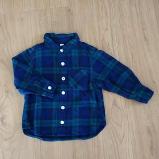 MUJI (無印良品) - 無印良品 フランネルシャツ 80