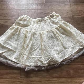 ジーユー(GU)の子供服《140cm》スカート(スカート)