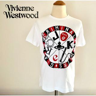 ヴィヴィアンウエストウッド(Vivienne Westwood)の新品未使用ヴィヴィアンウエストウッドルーレットプリントTシャツ(Tシャツ(半袖/袖なし))