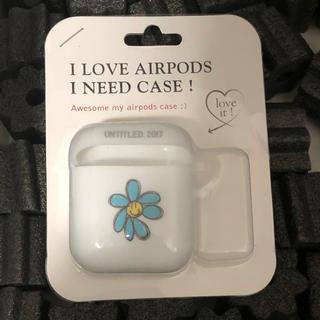 ピースマイナスワン(PEACEMINUSONE)のuntitled 2017 air pods ケース(iPhoneケース)