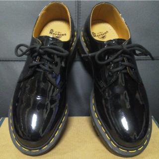ドクターマーチン(Dr.Martens)の【専用】Dr.Martens 3ホール パテント UK5 黒 1461(ローファー/革靴)