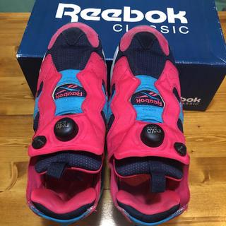 Reebok - リーボック ポンプフューリー  25センチ ピンク×水色