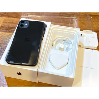 Apple - 美品 iPhone 11 128GB SIMフリー Dual Sim Black