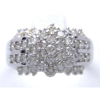 お値引き不可 PT900 合計1.00ct 天然 ダイヤ リング(リング(指輪))