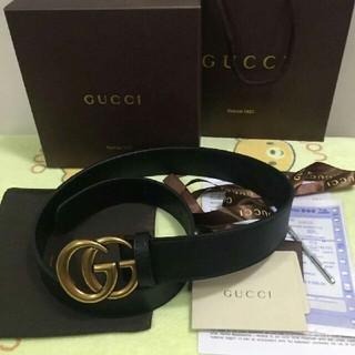 Gucci - GUCCI グッチ ダブルG バックル レザーベルト