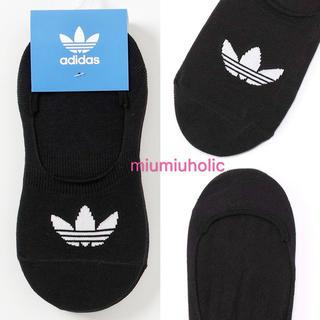 新品定価¥1859‼️ adidas オリジナルス 靴下 ソックス ブラック