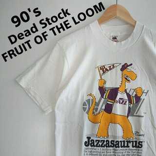 679 1989年 未使用品 デッドストック USA製 NBA Tシャツ