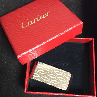 Cartier - 美品 Cartier マネークリップ C・ドゥ・カルティエ 2Cモチーフ