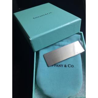 Tiffany & Co. - 美品 Tiffany ティファニー クラシック マネークリップ シルバー 925