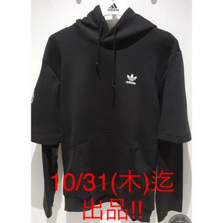 adidas - ♦︎新品•未使用★adidasオリジナルス•パーカーXS size黒