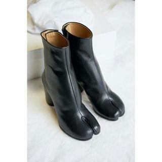 Margiela マルジェラ 足袋ブーツ ブラック たび(ローファー/革靴)