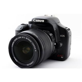 Canon - ★カメラ初心者おすすめ♪WiFi SDカード付き★キャノン Kiss X2