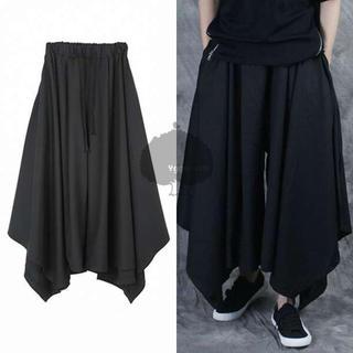 ⭐️即購入歓迎⭐️袴パンツ ワイド モード系 サルエル ブラック黒