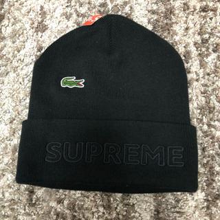 Supreme - 黒 supreme lacoste beanie black ビーニー