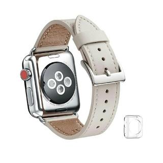 アップルウォッチ(Apple Watch)のApple Watch用 レザーバンド     アップルウォッチ用42 44mm(その他)