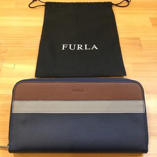 フルラ(Furla)の【新品・未使用 限定】FURLA フルラ メンズ 長財布 トラベルウォレット(長財布)