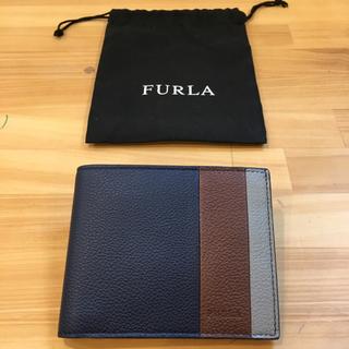 フルラ(Furla)の【新品未使用 限定】FURLA フルラ メンズ 二つ折りウォレット(折り財布)