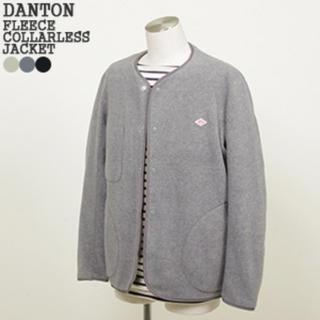 DANTON - お値下げ!ダントン DANTON フリース ノーカラージャケット