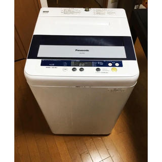 Panasonic - 10/29まで緊急★パナソニック洗濯機NA-F45B5★便利な置き台付き