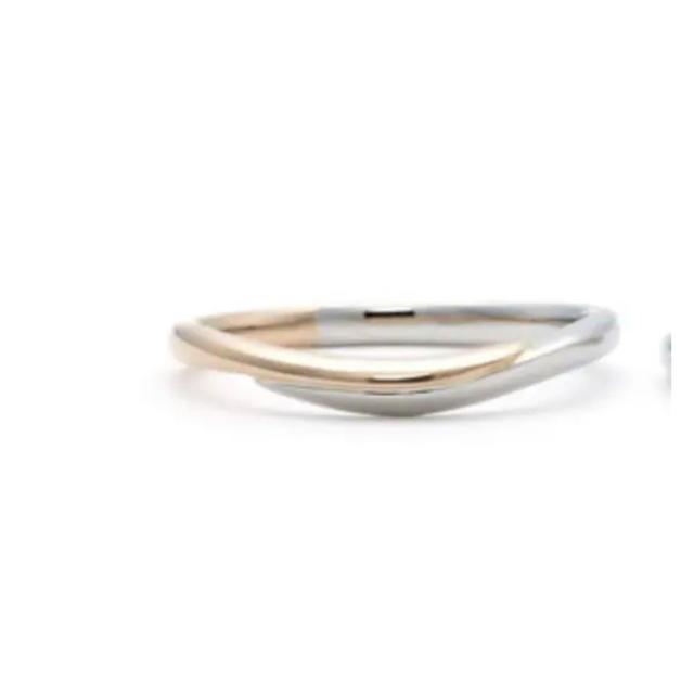 festaria プラチナ ピンクゴールドリング メンズのアクセサリー(リング(指輪))の商品写真
