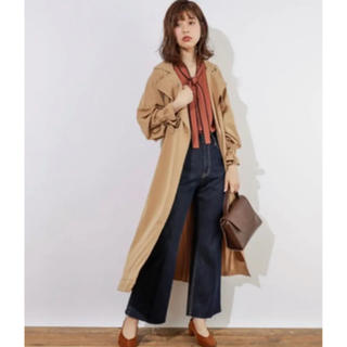 natural couture - natural couture トレンチコート ベージュ