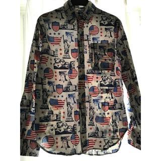 シップス(SHIPS)の【値下げしました♪】アメリカンテイストなUSA産インパクトシャツ!(Tシャツ/カットソー(七分/長袖))