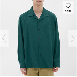 GU - gu オープンカラーシャツ 新品未使用