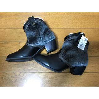 アクシーズファム(axes femme)の【新品】アクシーズ ショートブーツ(ブーツ)