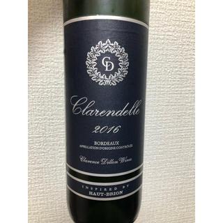 ボルドー白ワイン「クラレンドル・ブラン 2016」