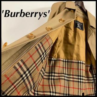 BURBERRY - BURBERRY バーバリー ステンカラーコート キャメル ライナー付 極美品