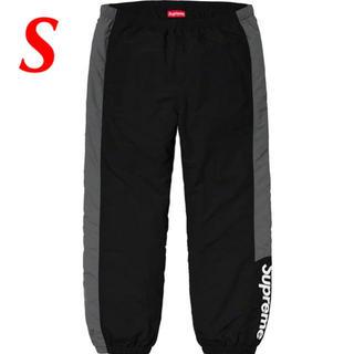Supreme - 【S】Supreme Side Logo Track Pant 黒 パンツ