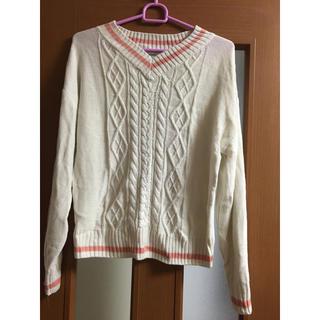 イーハイフンワールドギャラリー(E hyphen world gallery)の長袖薄手セーター(ニット/セーター)