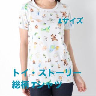トイストーリー(トイ・ストーリー)の【新品!】 Disney トイ・ストーリー 半袖Tシャツ 総柄 Lサイズ(Tシャツ(半袖/袖なし))