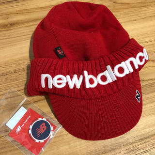 New Balance - ニューバランス ゴルフ ニットサンバイザー 新品