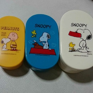 SNOOPY - スヌーピー コンテナ3個セット 新品